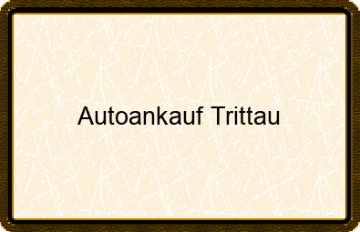 Autoankauf Trittau