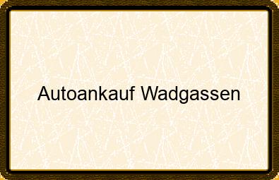 Autoankauf Wadgassen