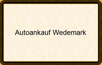 Autoankauf Wedemark