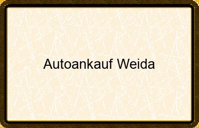 Autoankauf Weida