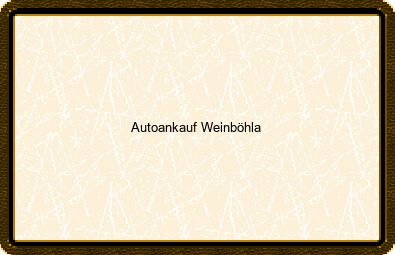 Autoankauf Weinböhla