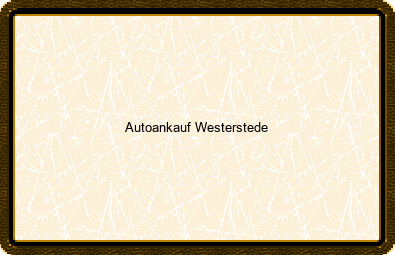 Autoankauf Westerstede