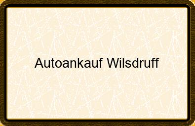 Autoankauf Wilsdruff