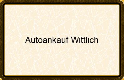Autoankauf Wittlich