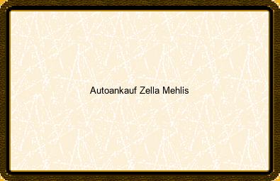 Autoankauf Zella-mehlis