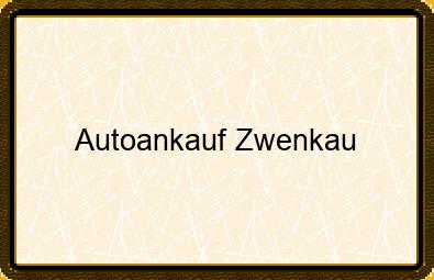 Autoankauf Zwenkau